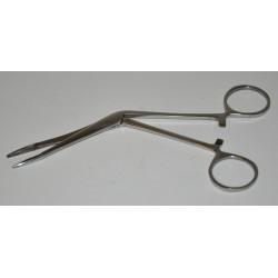 Forcep 12cm torcido