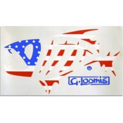 """G. Loomis Flag 10""""..."""
