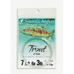Trout (oliva claro) paquete...
