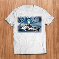 Camiseta Esqueleto...