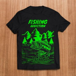 Camiseta Fishing addiction...