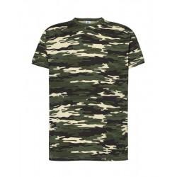 Camiseta básica camuflaje