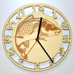 Reloj de pared Carpa