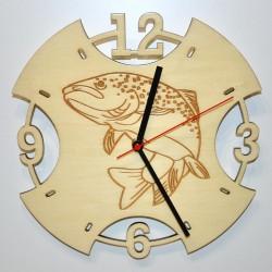 Reloj de pared Trucha